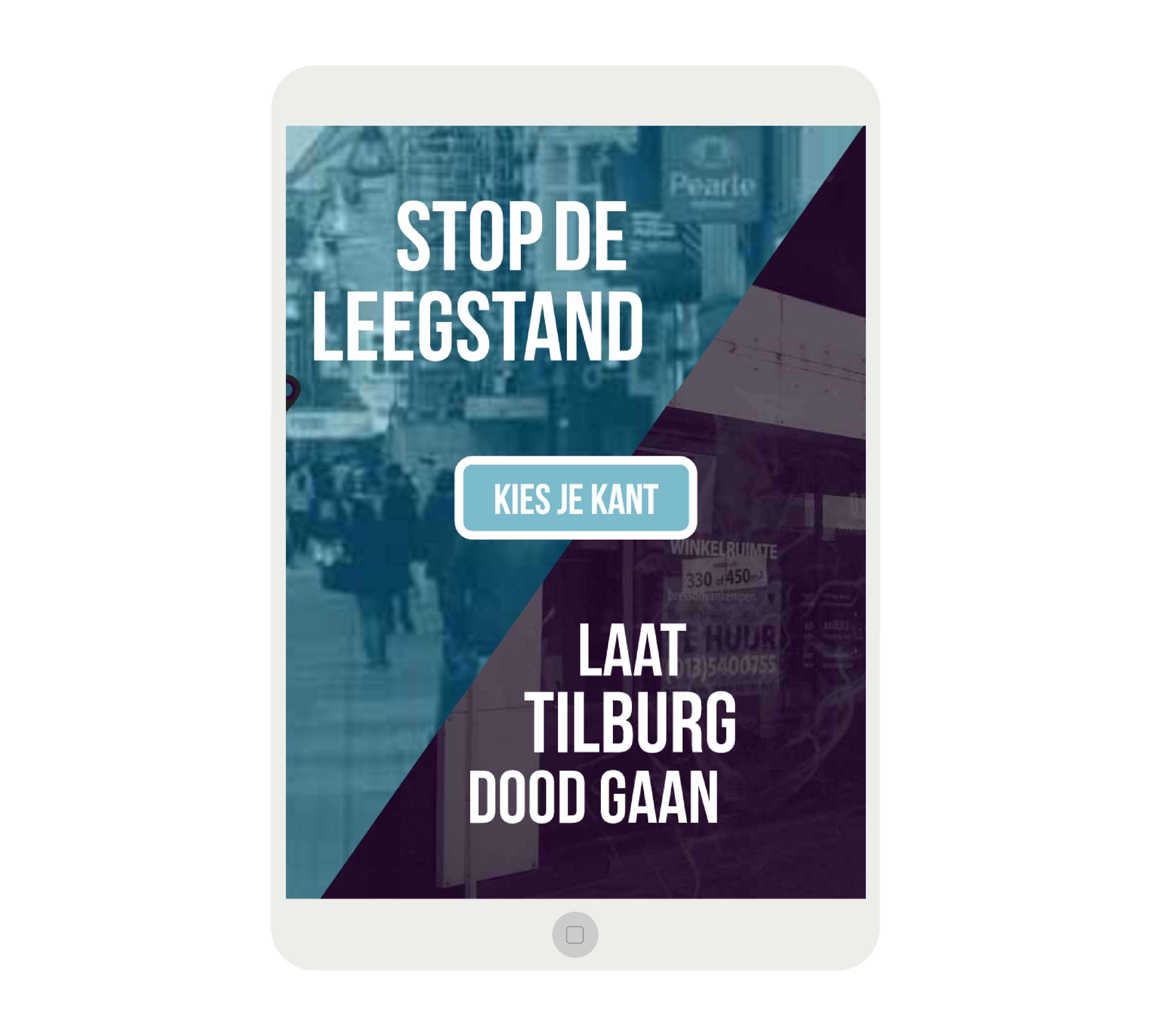 Tilburg Leeft campagne Dutch Lion Amsterdam